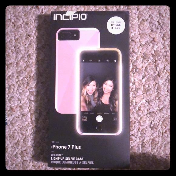 pretty nice 404c7 e9e97 Incipio Light Up Selfie Case IPhone 7-8 Plus NWT